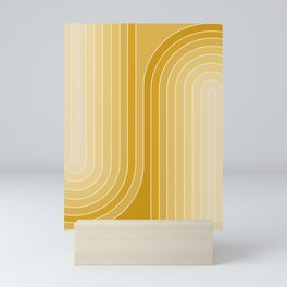 Gradient Curvature VII Mini Art Print