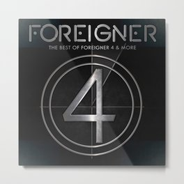 foreigner tour 2017 ty1 Metal Print