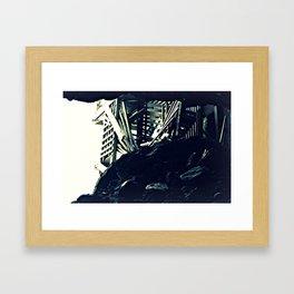 Inside the Cave Framed Art Print
