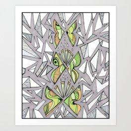 Iterations Art Print