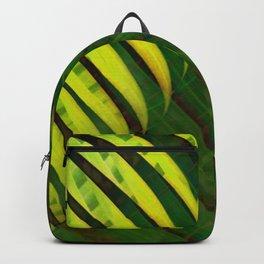 TROPICAL GREENERY LEAVES no10 Backpack