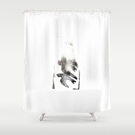 Soul Leaves the Body Shower Curtain