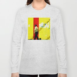 Walking in the Red Zone Long Sleeve T-shirt