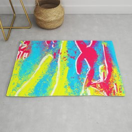 The Genesis in Abstraction Rug