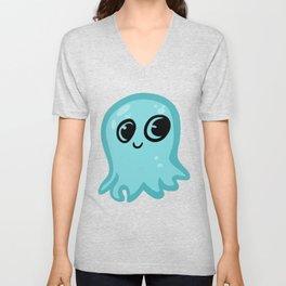 Happy Squid Unisex V-Neck