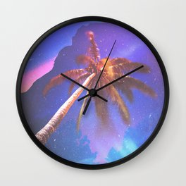 VISITS Wall Clock