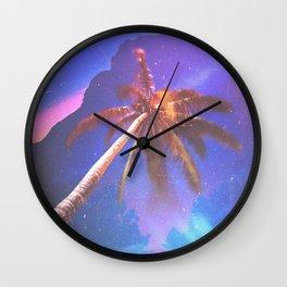 VISITS Wall Clock
