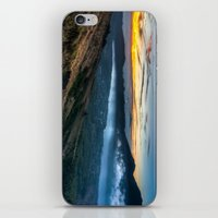 indonesia iPhone & iPod Skins featuring Batur Indonesia HDR by Santiago Billy