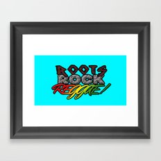 Roots Rock Reggae Framed Art Print