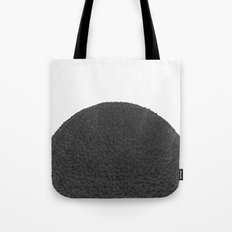 Black sphere Tote Bag