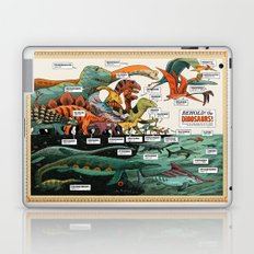 BEHOLD! THE DINOSAURS!  Laptop & iPad Skin