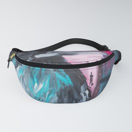 Raven - painting series Fanny Pack