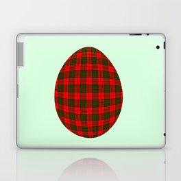 Tartan egg Laptop & iPad Skin