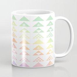 Pastel Triangles Coffee Mug