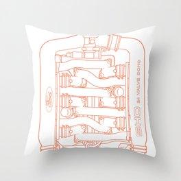Intake Throw Pillow