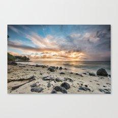 Island Sunrise Canvas Print