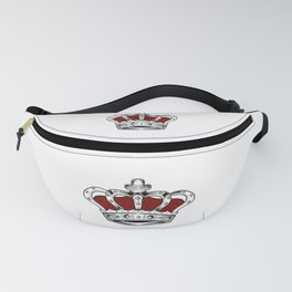 Crown - Red Fanny Pack