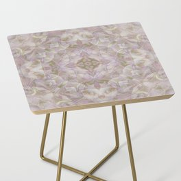 FADED HYDRANGEA CLOSE UP Side Table