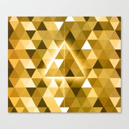 223 GOLD Canvas Print