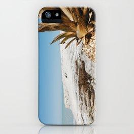 Golden Pineapple iPhone Case