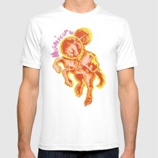 Moonicorn Mens Fitted Tee SMALL White
