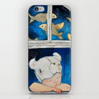 dreamer iPhone & iPod Skins featuring Dreamer by Zina Nedelcheva