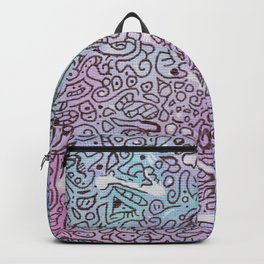 August's end doodle Backpack