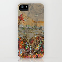 The Battle of Social Ideals iPhone Case