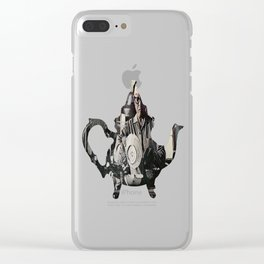 Dishes Clear iPhone Case