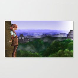Over the Ruins Canvas Print