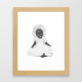 Pinafore and Bonnet Framed Art Print