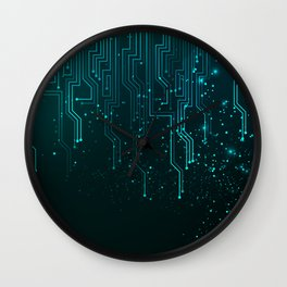 Aqua Tech Wall Clock
