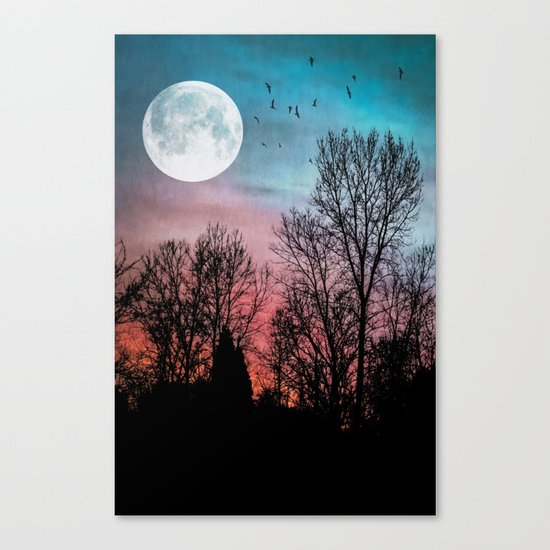 Recurring Dreams Canvas Print