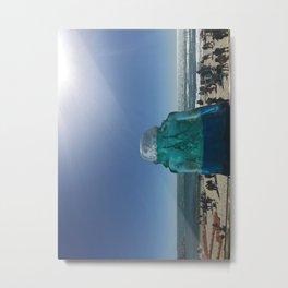 Child of Glass Metal Print