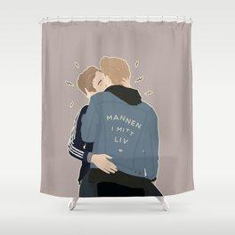 MANNEN I MITT LIV Shower Curtain