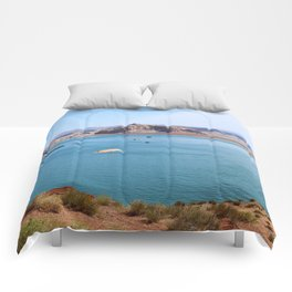 Lake Powell Impression Comforters