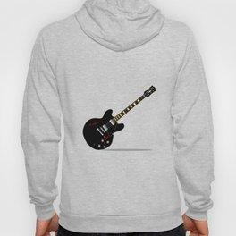 Black Semi Solid Guitar Hoody
