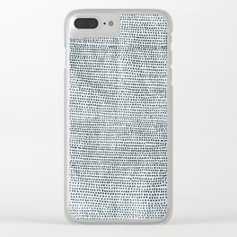 Aquamarine Clear iPhone Case