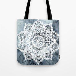 Dreamer Mandala Blue Tote Bag
