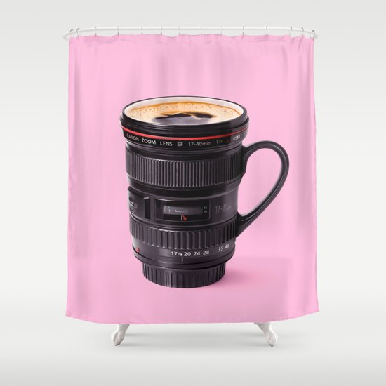 LENSCUP Shower Curtain