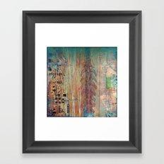 circuitry Framed Art Print