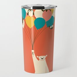 Penguin Bouquet Travel Mug
