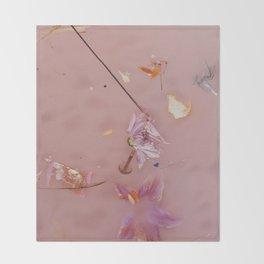 Harry Styles Album Artwork Floral Throw Blanket