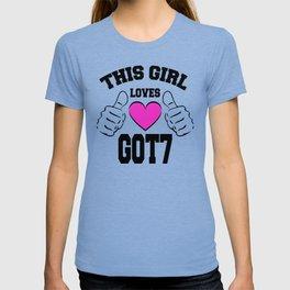 GOT7 merchandise T-shirt