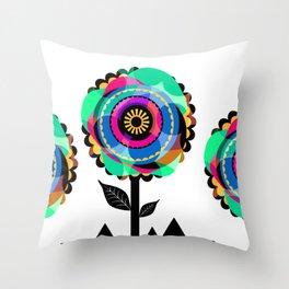 Fleurs 05 Throw Pillow