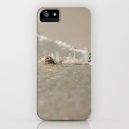 Seashell in the Waves iPhone Case