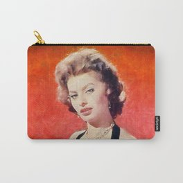 Sophia Loren, Vintage Actress Carry-All Pouch