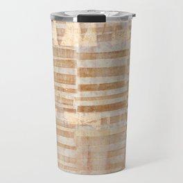 Rusty Grid Travel Mug