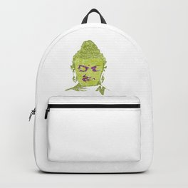 Silence The Liar With Truth | Gautama Buddha Backpack