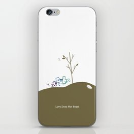 Love Does Not Boast iPhone Skin